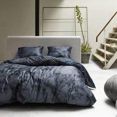 Essenza Romeo dekbedovertrek - Blue- Smulderstextiel.nl Comforters, Blanket, Bed, Shabby Chic, Lush, Creature Comforts, Quilts, Stream Bed, Rug