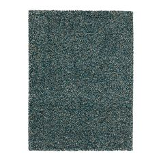 IKEA VINDUM Rug, high pile Blue-green 133x180 cm The high pile makes it easy to join several rugs, without a visible seam.
