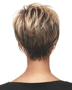 Back View of Short Haircuts | 2013 Short Haircut for Women