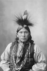 """Stunned by Lightning"" Kickapoo Warrior 1898"