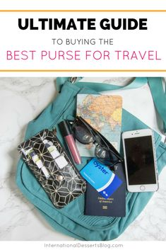 How To Find The Perfect Travel Purse Best Travel Purse International Travel Europe Travel Handbags, Travel Purse, New Travel, Travel Gifts, Travel Style, Travel Bags, Travel Fashion, Cheap Travel, Solo Travel