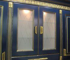 Белиссимо в фасаде (синий)