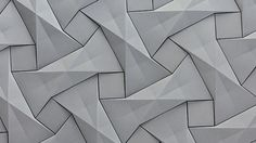 KAZA Concrete's contemporary concrete tile design,'Quadilic' by origami artist Ilan Garibi Pattern Texture, 3d Pattern, Texture Design, Surface Pattern, Surface Design, Pattern Design, Grey Pattern, Quilt Pattern, Concrete Tiles
