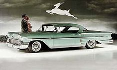From the windshield pillar rearward, the 1958 Chevrolet Bel Air Impala differed structurally from typical Chevrolets. Hardtops had a slightly shorter greenhouse and longer rear deck, giving the impression of an extended body.