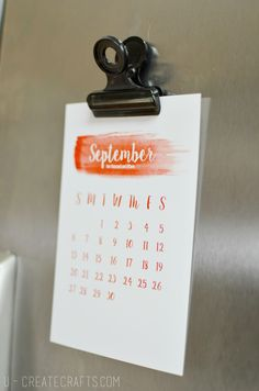 Free Printable 2015-2016 School Year Calendar