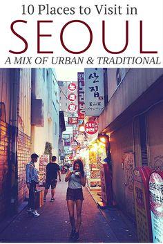 The best spots in Seoul, South Korea