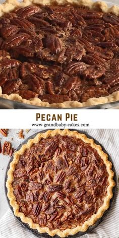 Easy Pie Recipes, Easy Chicken Dinner Recipes, Pecan Recipes, Baking Recipes, Dessert Recipes, Desserts, Best Pecan Pie Recipe, Southern Pecan Pie Recipe, Easy Pecan Pie