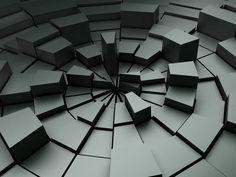 壊れた画像を, 図の壁紙, プラスチック, ベクトル, 黒の背景
