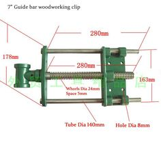 Cheap Hand Tool Sets, Buy Quality Tools Directly from China Suppliers:Carpenter's Workshop Guide bar woodworking clip 7 Woodworking Furniture Plans, Woodworking Workbench, Woodworking Workshop, Metal Tools, Wood Tools, Diy Tools, Wood Jig, Wood Tool Box, Wood Carving Designs