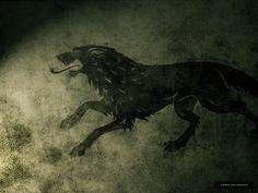 Game of Thrones - House Stark sigil, by 7narwen (deviantart)