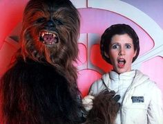 Wookiee atrevido!