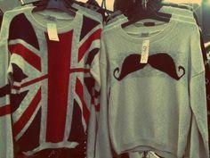 #mustache #sweater #cute #fashion