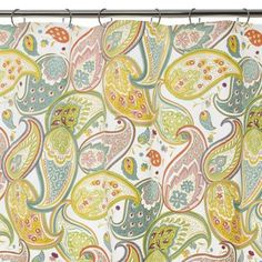 Paisley Shower Curtain!