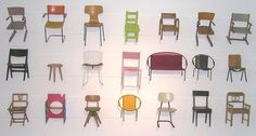 A history of school chairs