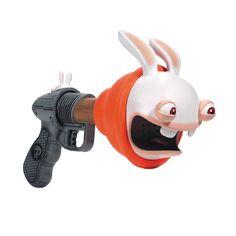 McFarlane Toys Rayman Raving Rabbids Super Plunger Blaster Fart Gun w/ Batteries #McFarlaneToys