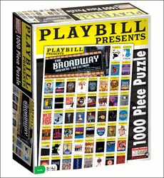 Playbill Presents the Broadway Musical Collection - 1,000 Piece Jigsaw Puzzle