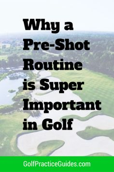 Golf tips to create your go to pre-shot routine. Having a pre shot routine in golf is super important for getting your mind right before you make the swing, chip, or putt. Golf Chipping Tips, Golf Putting Tips, Best Golf Clubs, Golf Practice, Golf Videos, Golf Instruction, Golf Exercises, Golf Tips For Beginners, Perfect Golf