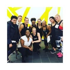 """Sweaty mess from @soulcycle this am with my tribe! happy birthday @lifeofcc / @selena thanks for pushing me harder today!! We are taking this momentum into our new month of Feb!!  I'll never understand everyone that is """"waiting"""" for the new year to start a wellness journey. Or a new month to start. Nothing magical happens on January 1st.. or Feb 1st. The only magic is the kind we make ourselves. The only momentum is the kind we make ourselves. We create our mojo. We decide we are ready. We…"""