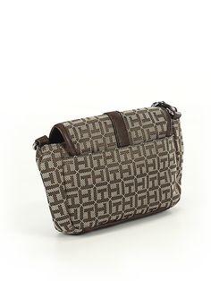 Tommy Hilfiger Print Brown Crossbody Bag One Size - off Brown Crossbody Bag, Casual Jeans, Tommy Hilfiger, Branding Design, Pairs, Belt, Handbags, Check, Women
