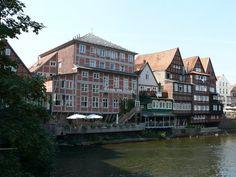 2007 Lüneburg - Häuser an der Ilmenau, links Haus Lösecke