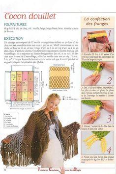 Patrones Crochet: 2 Revistas Tricot con los Dedos