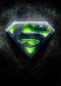 Superman logo - Kryptonite by Maxnethaal on DeviantArt Arte Do Superman, Superman Tattoos, Superman Artwork, Superman Symbol, Superman Wallpaper, Supergirl Superman, Batman Vs Superman, Superman Logo Art, Superman Stuff
