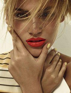 Sonya Gorelova by Hong Jang Hyun for Mixt(e) Magazine Summer 2015 Hair by Roberto Di Cuia Makeup by Yumi Lee