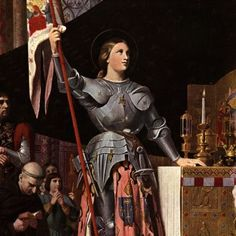Joan of Arc Biography - Facts, Birthday, Life Story - Biography.com - Are you kidding me? Since I am related to her and I would have been on board with Joan, hell yeah!