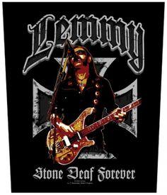Dossard LEMMY - Stone Deaf Forever - Dossards - www.rockagogo.com