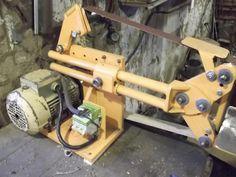 How To Woodworking Books Code: 9953474035 Woodworking Mallet, Best Woodworking Tools, Woodworking Clamps, Metal Working Tools, Metal Tools, Diy Belt Sander, Diy Projects Engineering, Belt Grinder Plans, Knife Grinder