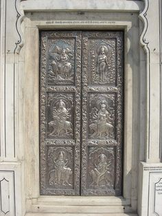 Silver door at Sri Durgiana temple