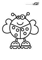 Coloring pages FOR THE VERY YOUNG | krokotak