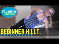 Full Body Low Impact HIIT for Beginners ... No equipment needed for this quick and simple (but surprisingly sweaty!) HIIT at-home workout, designed to tighten and tone your arms, abs, and butt, as well as your heart and lungs.  Combining a mix of upper- and lower-body exercises with low impact cardio moves in pairs of short intervals with similar rest gives you a full body fat burn while building long and lean muscles.  Find more FREE workout videos at www.PahlaBFitness.com