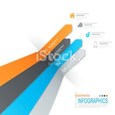 Abstract infographics Royalty Free Stock Vector Art Illustration