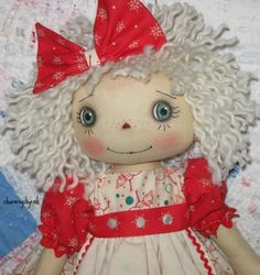primitive-folk-art-raggedy-ann-Winter-Friend
