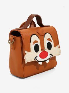 7210c0cc55f6 Loungefly Disney Chip N Dale Crossbody Bag - BoxLunch Exclusive