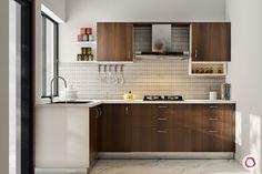 15 New Kitchen Designs Curated Just For You! Kitchen Room Design, Kitchen Cabinet Design, Interior Design Kitchen, Closed Kitchen Design, Kitchen Decor, Diy Kitchen, Interior Ideas, Kitchen Ideas, Kitchen Modular