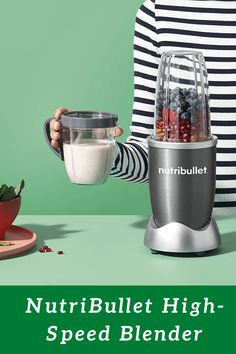 The Nutribullet is the fastest, easiest solution for making nutrient- packed smoothies. Load it up with your favorite whole foods like nuts, berries and spinach, then push, twist and blend your way to a healthier lifestyle. Healthy Kids, Healthy Food, Healthy Eating, Healthy Recipes, Kitchen Items, Kitchen Hacks, Baking Pan Sizes, Fb Share, Recipe Tips