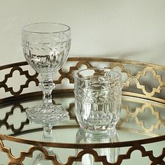 Decorative Glass Tumblers & Goblets from £7  #wineglass #tumblers #drinkingglasses