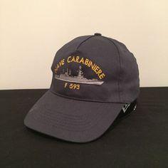 2a519bf8c9b Nave Carabiniere F 593 Italian Navy Italy Military Blue Adult Baseball Cap  Hat