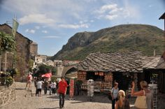 Starówka w Mostarze Dolores Park, Travel, Europe, Viajes, Destinations, Traveling, Trips