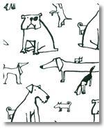 """Little Dogs"" wallpaper"