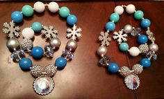 Matching necklaces and bracelets made by fashiontots1 on etsy. 40.00  shipped