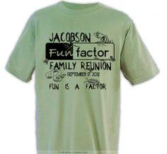 fun factor family reunion design sp398