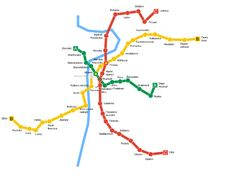 Prague's public transportation system is clean, efficient, and relatively easy to use once you know a few basics that'll make for a smooth ride. Prague Map, Prague Travel, Prague Czech, Metro Map, European Vacation, Like A Local, Travel Information, Public Transport, Czech Republic