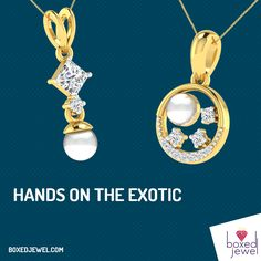Get your hands on the #Exotic #Pearl #Collectives. Royal pearl studded #Pendants for the royal ladies. wwww.boxedjewel.com #Fashion