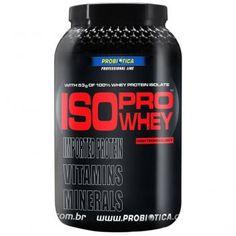 Whey Protein Isolado Iso Pro Whey Baunilha 900g - Probiótica