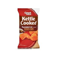 Great Value Kettle Cooked Barbecue Flavored Potato Chips, 8 oz ($1.98) ❤ liked on Polyvore featuring home, kitchen & dining and kitchen gadgets & tools