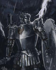 Dark Souls 2: Looking Glass Knight by SharkAlpha on deviantART