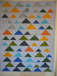 Baby Quilt for Marc